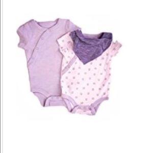 2 short sleeved Onesies